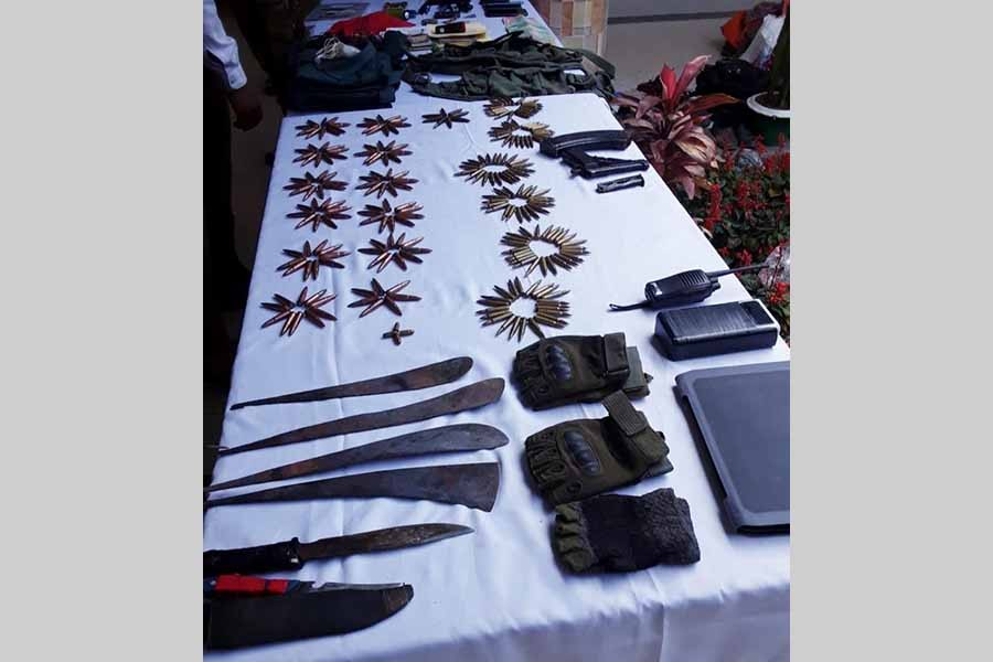 Army recovers weapons, ammunition in Bandarban