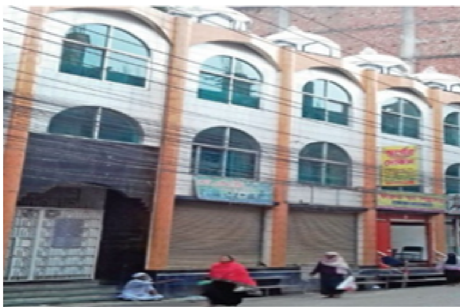 Time schedule at two mosques in Luxmibazar