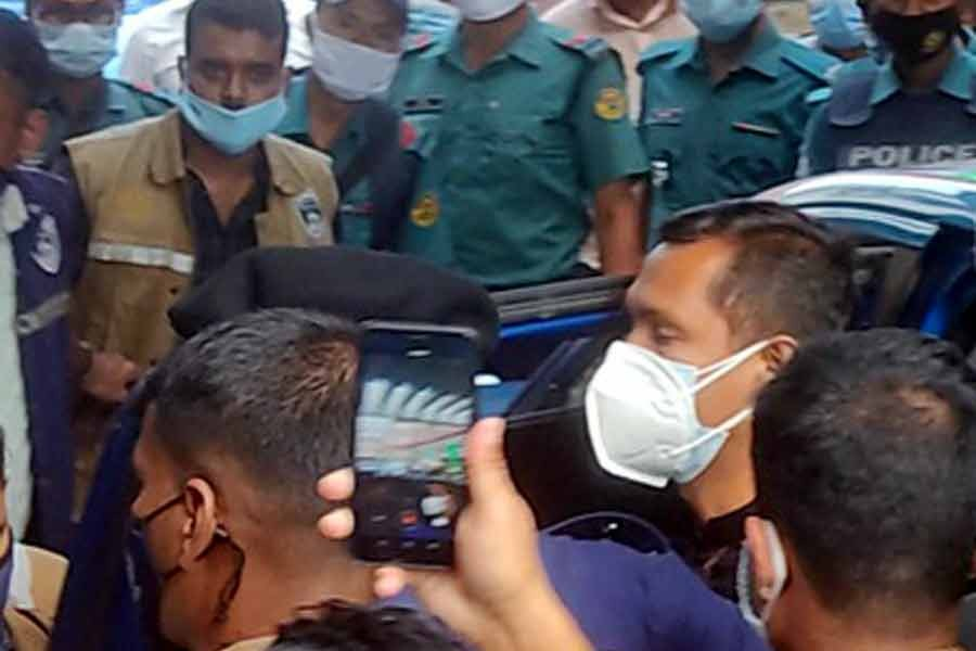 Babul Akter on five-day remand over wife's murder