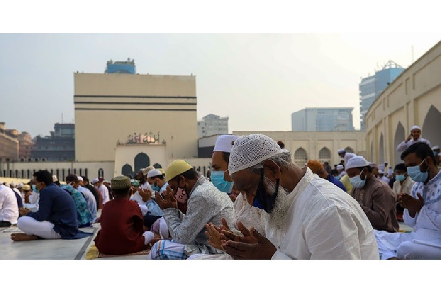 Millions pray for an end to Covid-19 pandemic as Bangladesh celebrates Eid