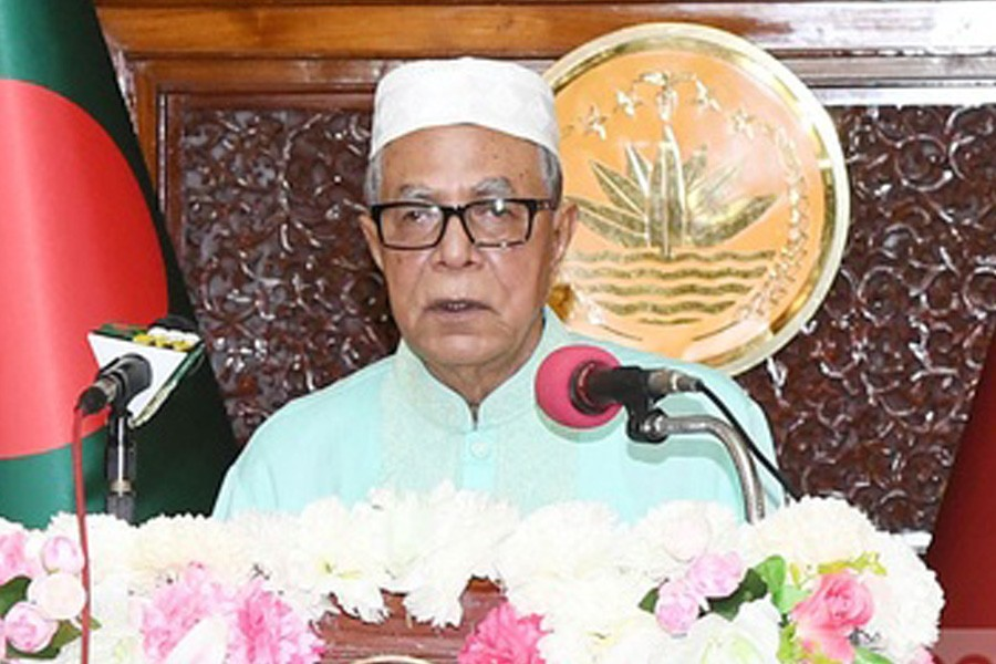 President urges people to follow pandemic restrictions