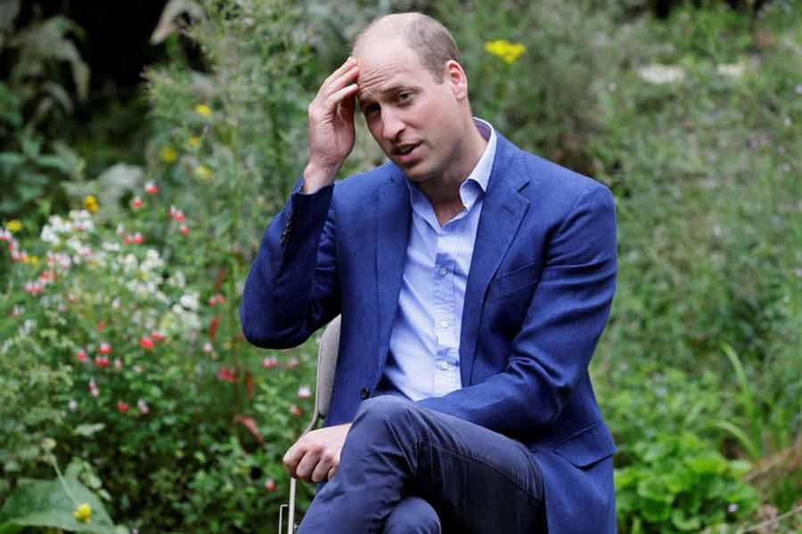 Britain's Prince William, Duke of Cambridge, speaking during a visit to the Garden House, part of the Light Project, which works on getting people safely off the streets throughout the coronavirus disease (COVID-19) outbreak, in Peterborough, Britain, on July 16 last year –Reuters file photo