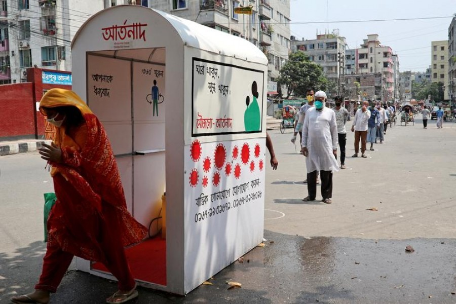 Developing own capacity to fight pandemic
