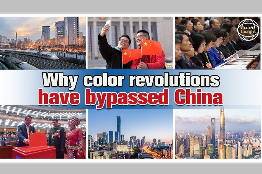 Why colour revolutions have bypassed China