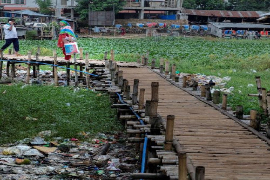 Tackling plastic pollution for green growth in Bangladesh