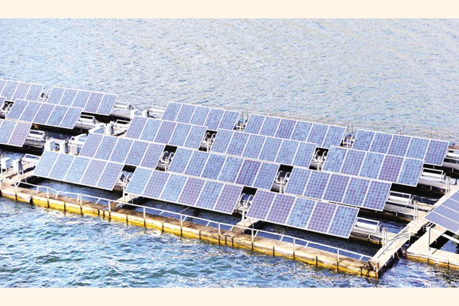 ADB finds sites for floating solar plants to produce 61MW