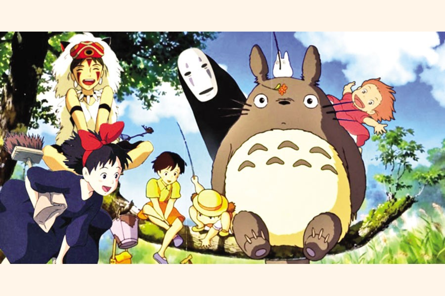 Finding peace of mind in the Studio Ghibli World
