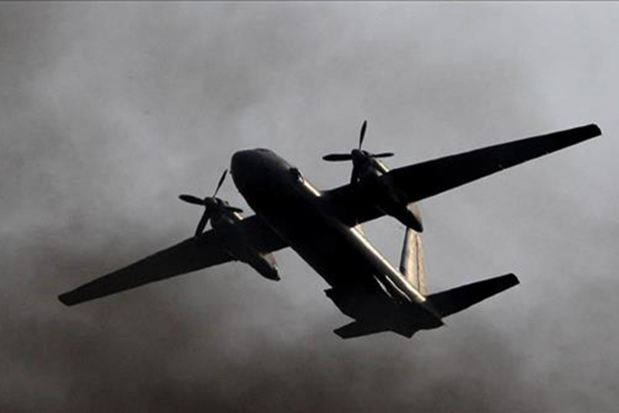 Military plane crashes in Myanmar, 12 feared dead