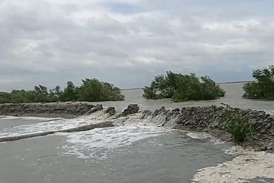 Coastal embankment works must not be stalled