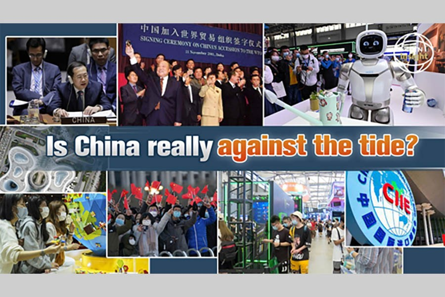 Is China really against the tide?
