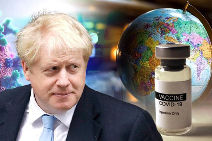 UK to donate 100m vaccines to poorer countries