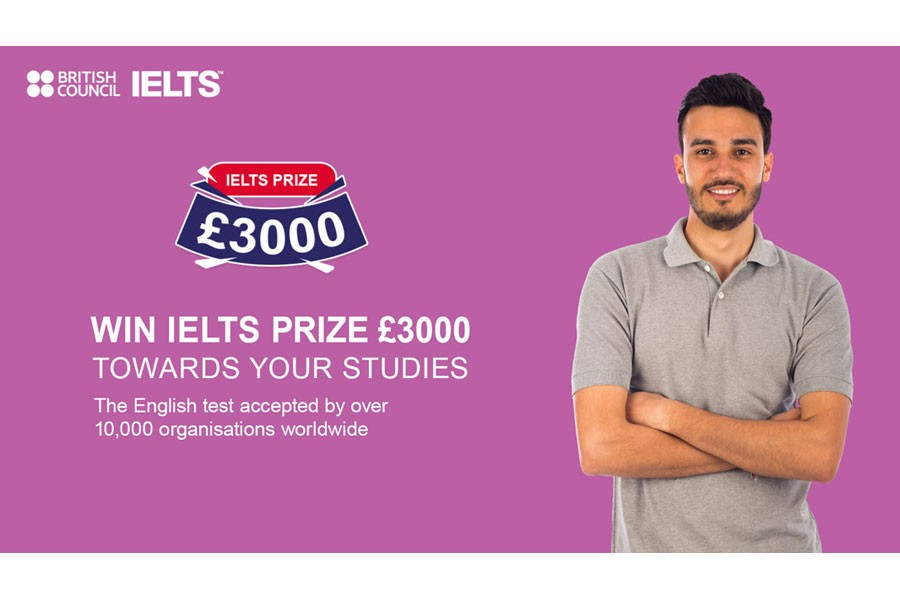 IELTS Prize 2021 announced for eligible candidates