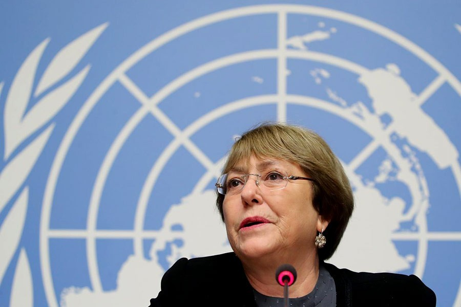 UN rights chief seeks Xinjiang visit amid reports of Uyghurs persecution