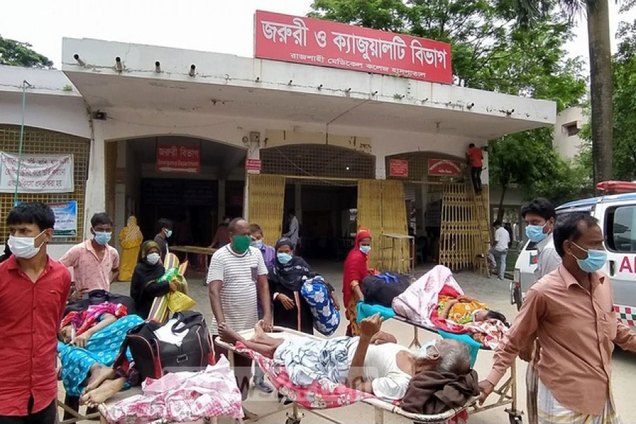 Rajshahi hospital reports record 18 deaths in 24 hours