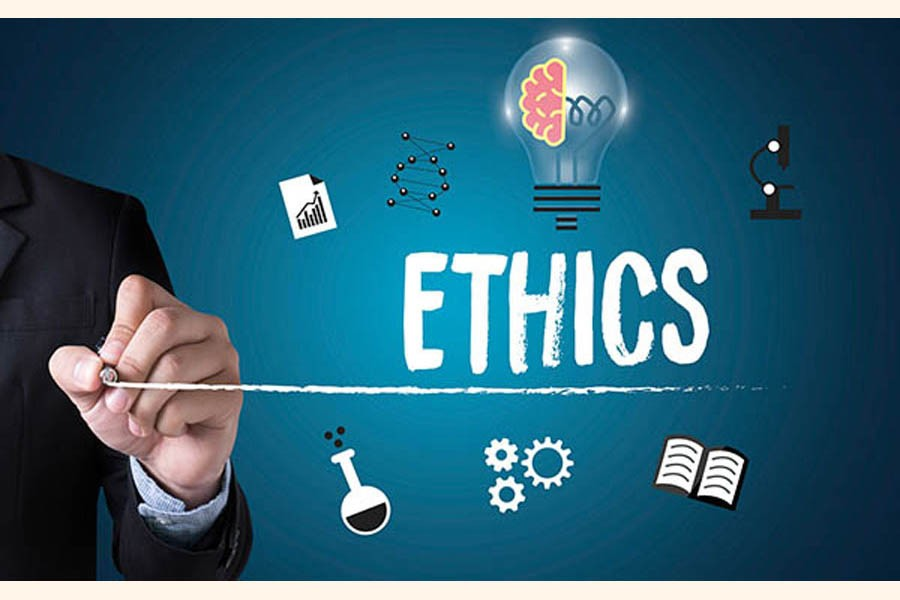 Of ethics, morality in society