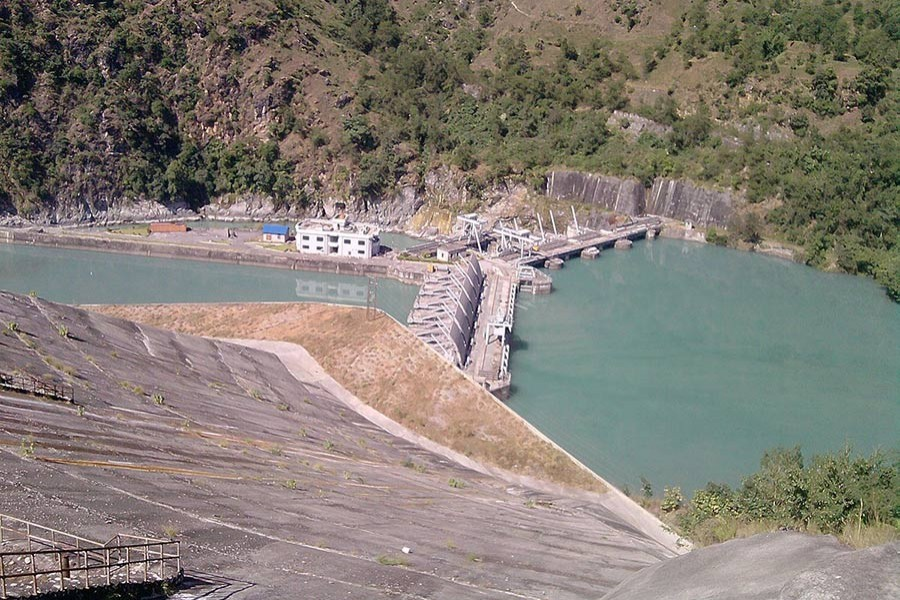 A hydropower plant in Nepal