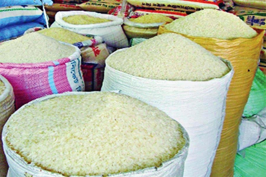 Police report on rice market!