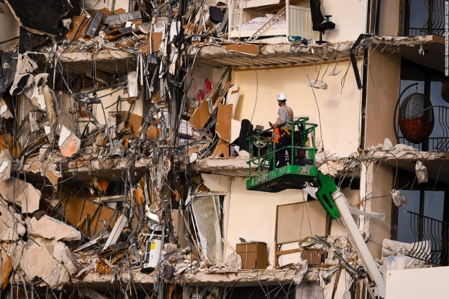 Death toll in Florida building collapse rises to nine