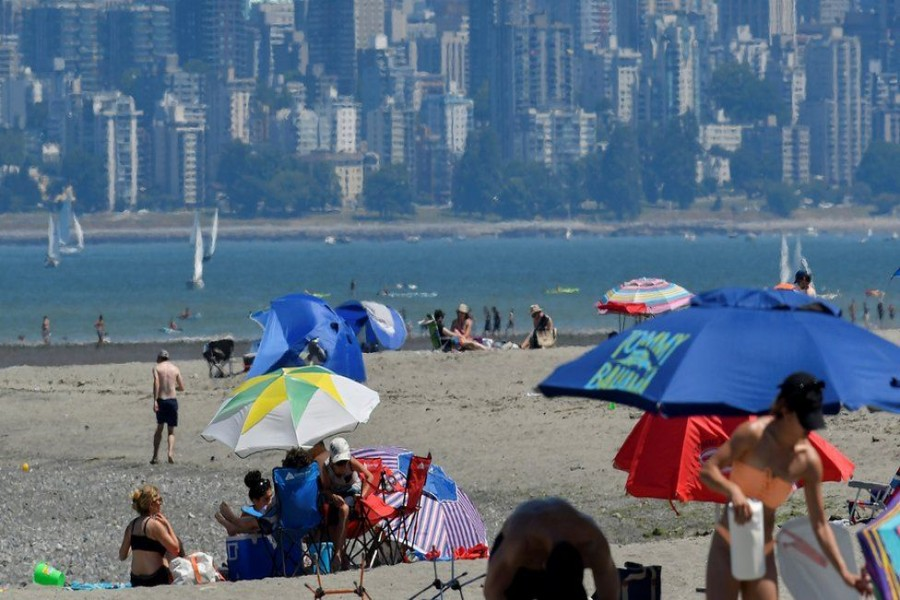Western Canada and the US Pacific north-west have seen days of baking temperatures - Reuters photo