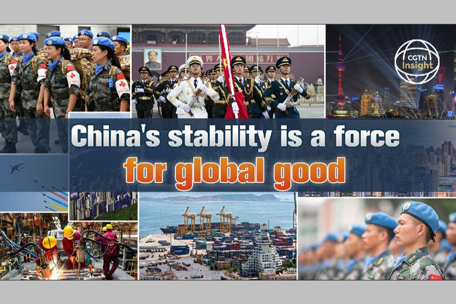 China's stability is a force for global good