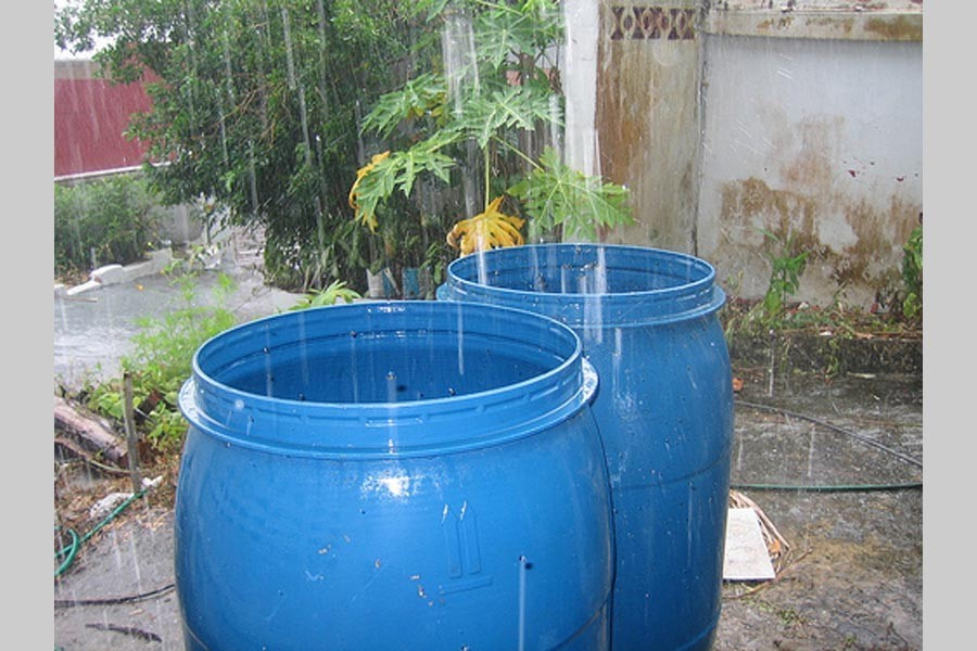 Rain water --- a prospective source of water security