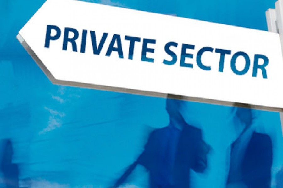 Boosting the private sector