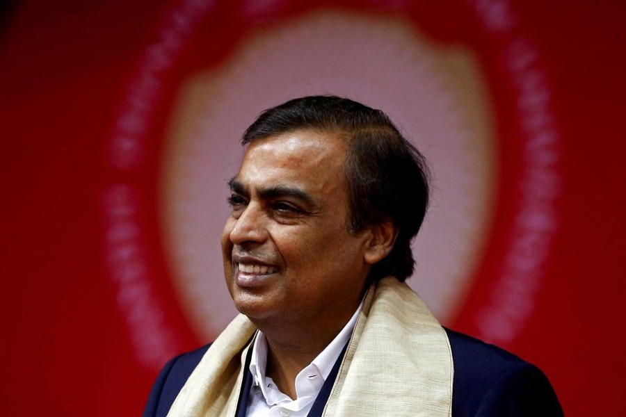 Mukesh Ambani, Chairman and Managing Director of Reliance Industries, attends a convocation at the Pandit Deendayal Petroleum University in Gandhinagar, India on September 23, 2017 — Reuters/Files