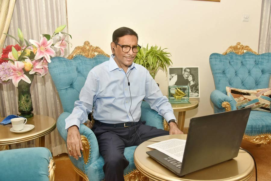 Obaidul Quader urges all to stand by distressed people