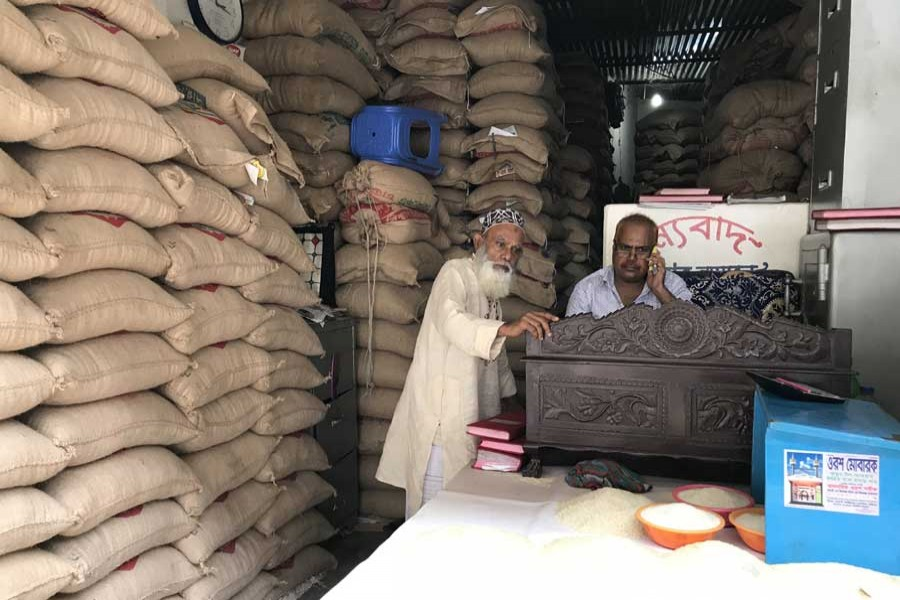 Curbing rice prices amid pandemic