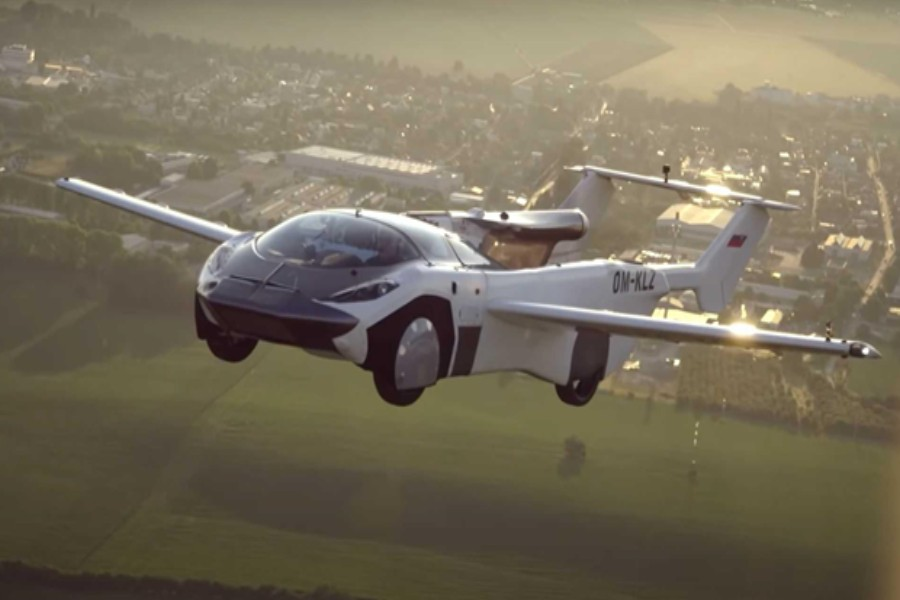 Flying cars: Fiction turns into reality
