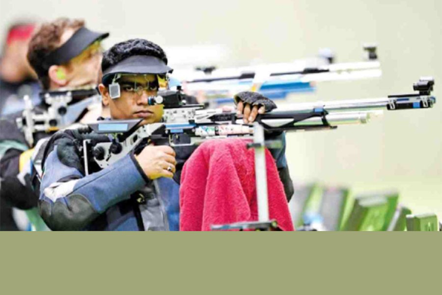 Baki eliminated from 10-meter Air Rifles of Olympics shooting