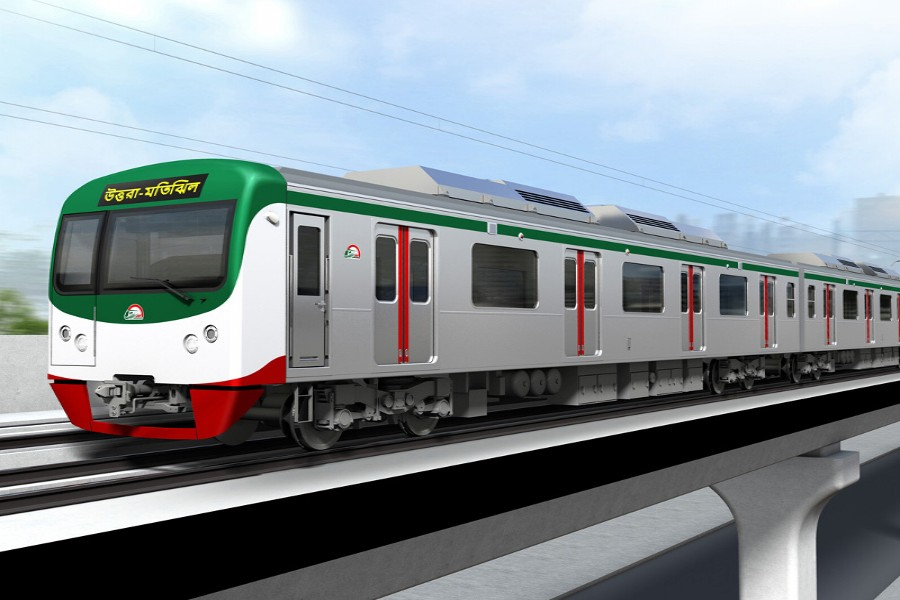 Dhaka's first-ever metro rail set to start by December 2022, says project chief