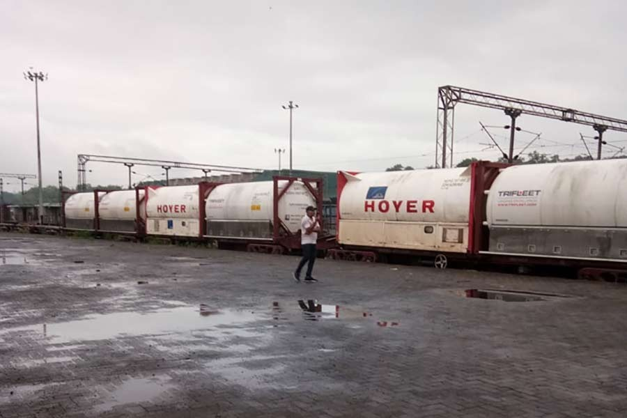 Fourth Oxygen Express arrives with 200 tonnes of oxygen
