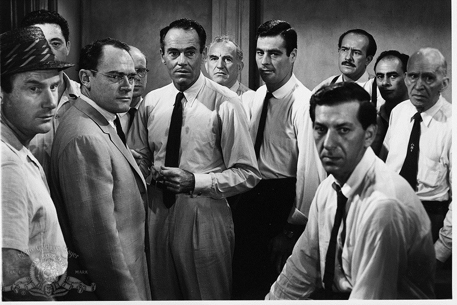 A scene from the film 12 Angry Men. Source: IMDB