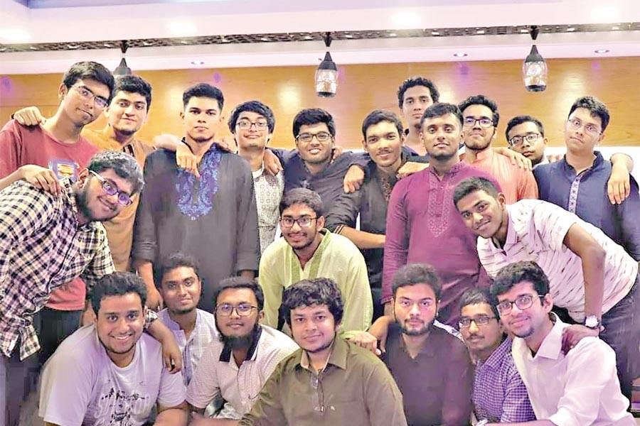 An active friend-circle from St Gregory High School and College, Dhaka-- the batch of SSC 2017