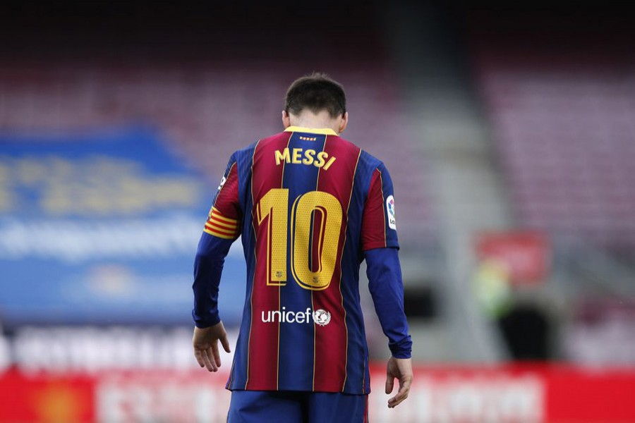 Messi, who joined Barca's youth set up aged 13, is the club's all-time top scorer and appearance maker with 672 goals in 778 games in all competitions — Reuters/Files