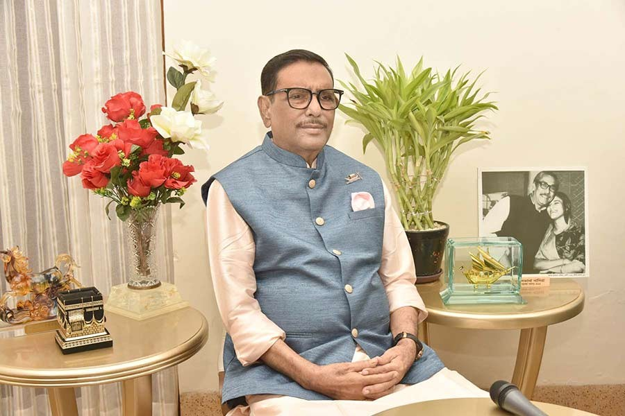 BNP's greed for power paved way for 1/11 changeover, Obaidul Quader says