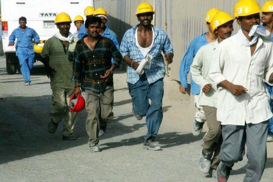 Cheated migrant workers in host countries