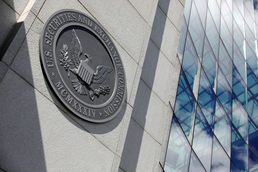 The headquarters of the U.S. Securities and Exchange Commission (SEC) in Washington, D.C., May 12, 2021. REUTERS/Andrew Kelly