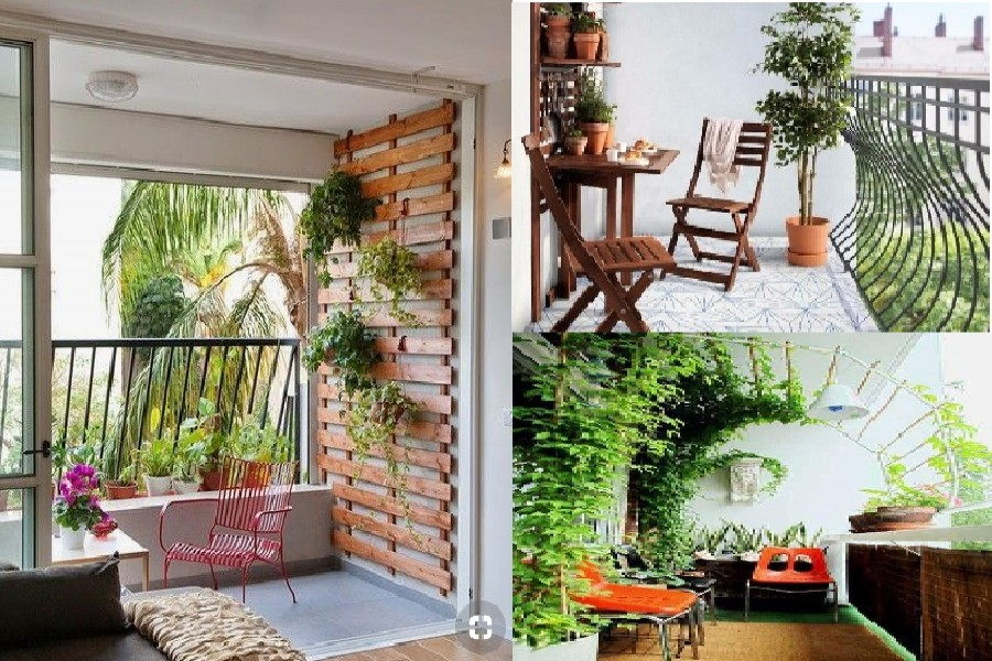Make your balcony a fresh breathing space