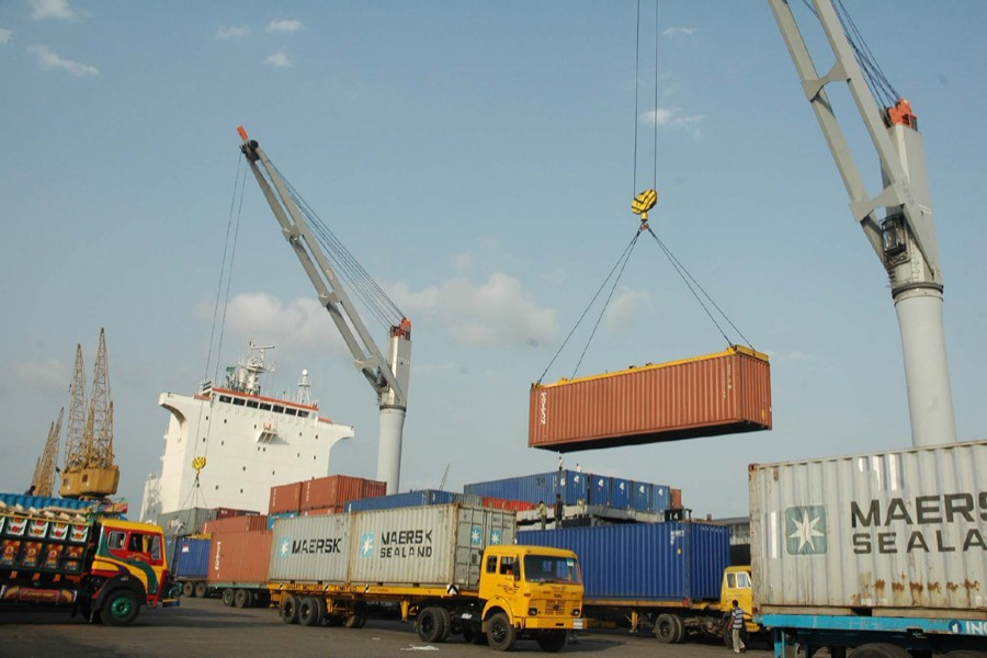 A general view of Chittagong Port — File photo