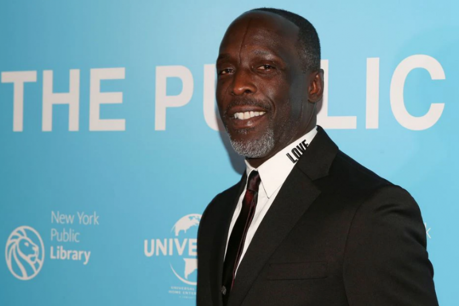 """Michael K Williams arrives for the premiere of """"The Public"""" at the New York Public Library in New York, U.S., April 1, 2019. REUTERS/Caitlin Ochs"""