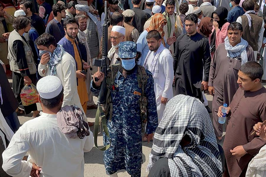 Afghans blame departed US forces for their woes