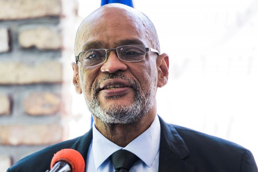 Haiti's Prime Minister Ariel Henry seen in this undated Reuters photo