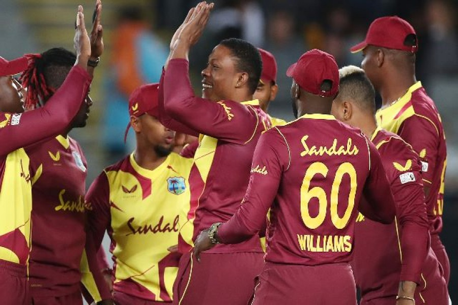 The arsenal of West Indies T20 team