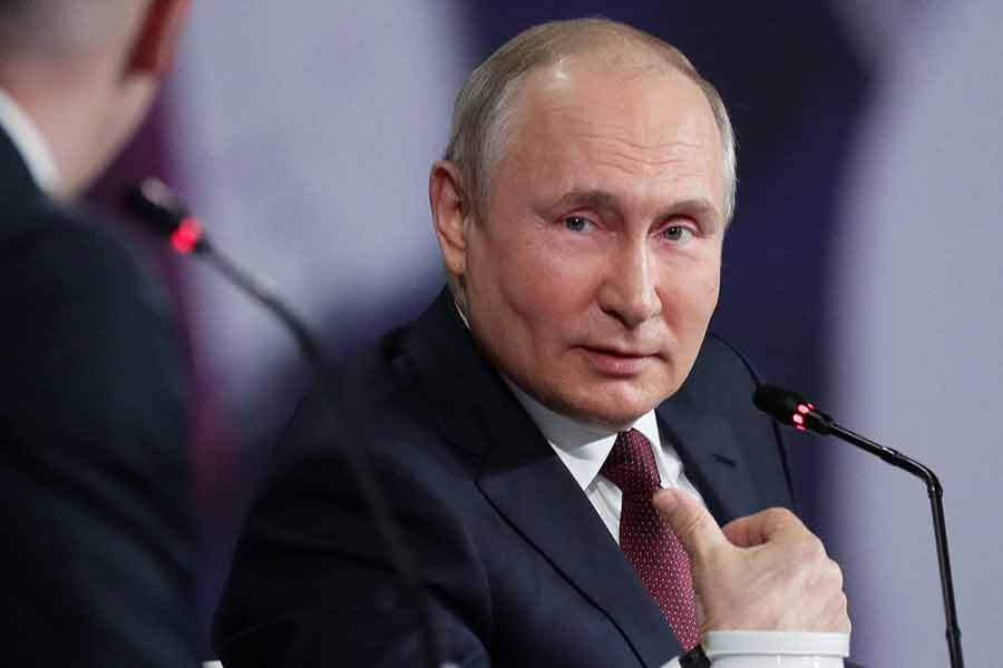 The expected win by the ruling United Russia party is likely to be used by the Kremlin as proof of support for Vladimir Putin -Reuters file photo
