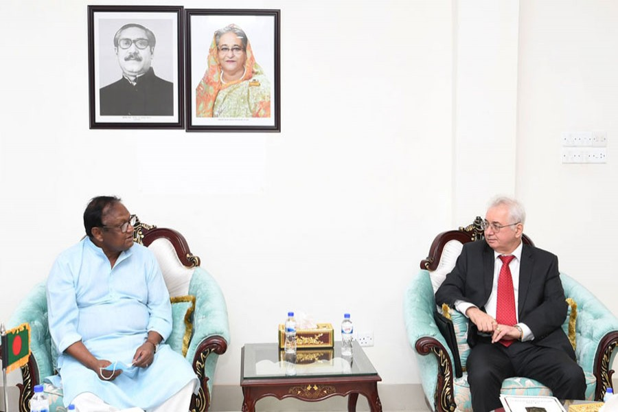 Tipu Munshi seeks Russia's cooperation to export products directly