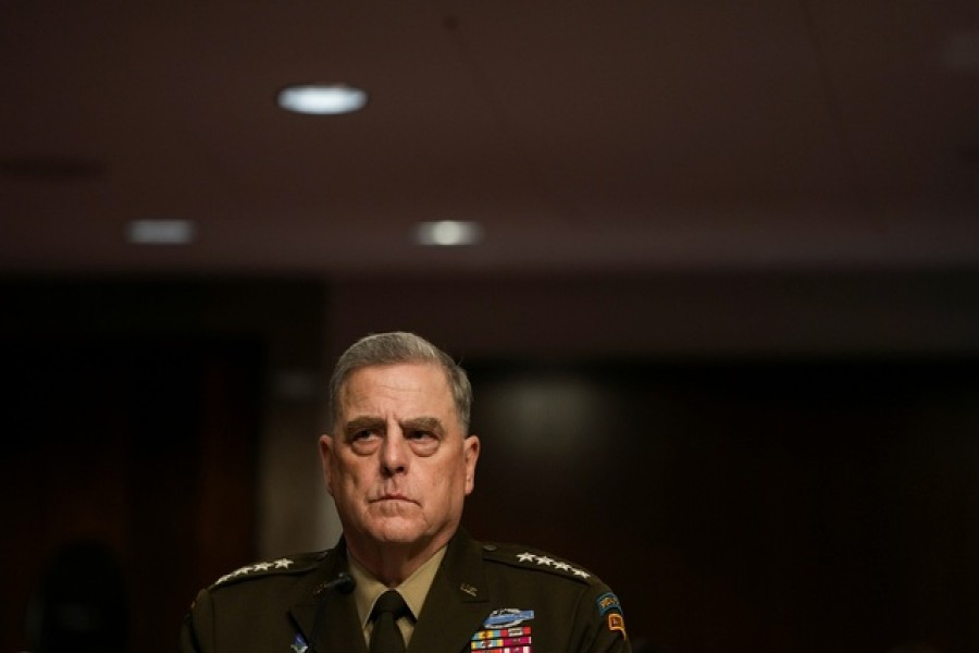 US General Milley defends calls with China