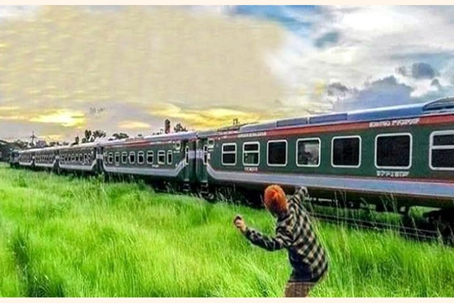 Mindless stone-throwing at moving trains: But why?
