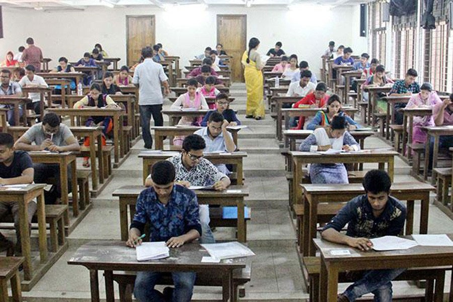 Fear of general knowledge in entrace exam